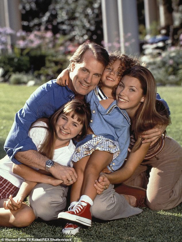 Throwback:The actress is perhaps best known for playing the daughter of a minister in the hit series 7th Heaven