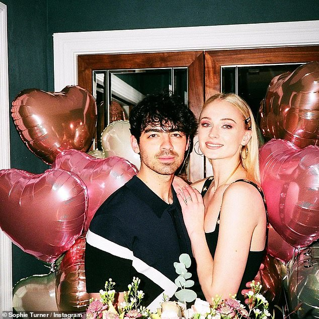 Sexuality: Sophie – who is married husband Joe Jonas, 31,took to social media on Wednesday to celebrate the start of Pride month and used her post to seemingly come out