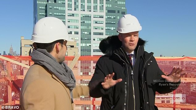 Perfect broker: Ryan pitched himself as the perfect broker for the project
