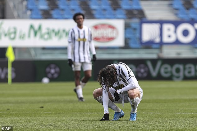 Pirlo was sacked at the end of the season by Juve after his title defence finished in just fourth