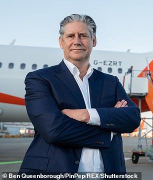 EasyJet chief executive Johan Lundgren