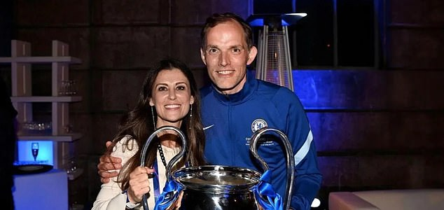 Blues director Marina Granovskaia (left) says Tuchel (right) is now an 'integral part' of Chelsea