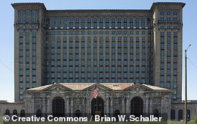 Pictured: Michigan Central Station