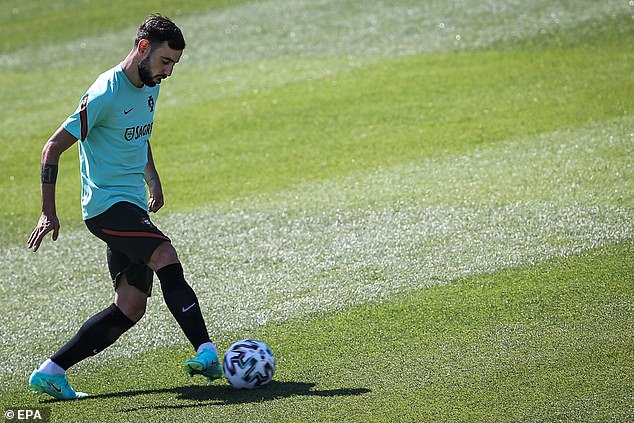 Fernandes said Ronaldo's desire to improve all the time has created huge 'motivation' for him