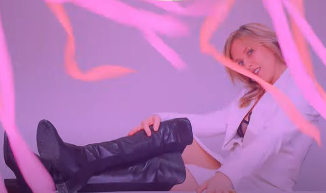 Kinky boots! Phair rocks out in her new video The Game from her seventh album Soberish