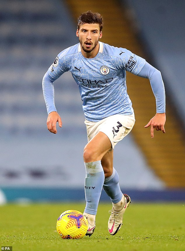 Defender Ruben Dias has been widely credited as being the key addition to City's squad