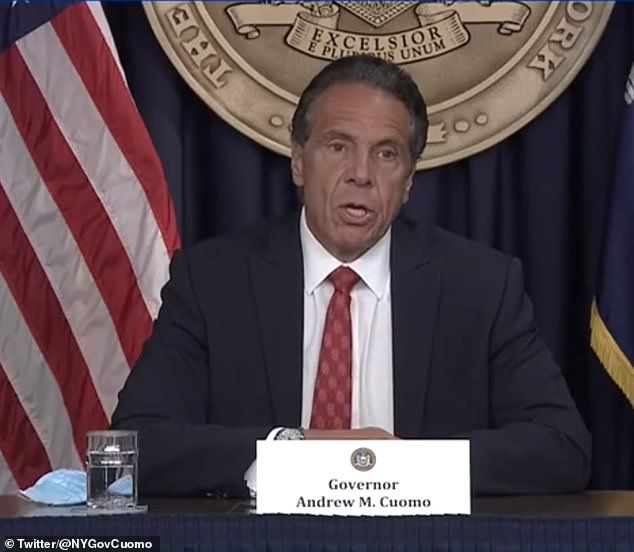 Governor Andrew Cuomo admitted last week that New York City is now in the throes of a 'major crime problem' as he said some of the blame lies with budget cuts to the NYPD