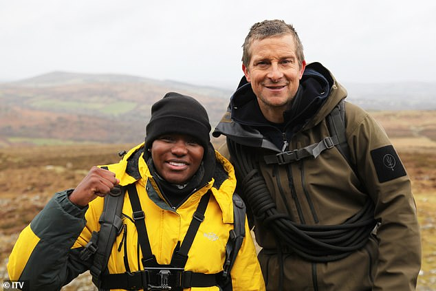 Survival training: The show follows the Strictly star, 38, spend 48 hours with the survival expert, 46, in Dartmoor, where she battles treacherous weather