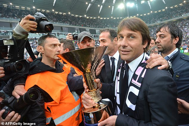 Conte worked with Paratici at Juventus between 2011 and 2014 and won three Serie A titles