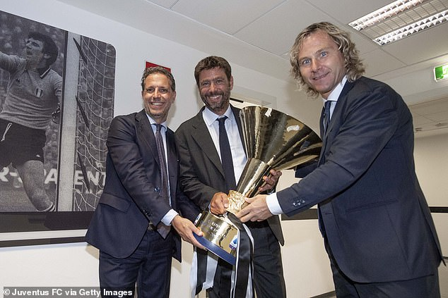 The director of football won 19 trophies during the 11 successful years he spent at Juventus