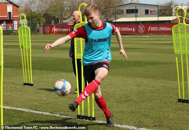 Manchester United are interested in signing Fleetwood's 16-year-old Josh Feeney this summer