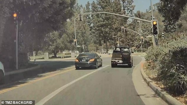 Dangerous: Soon after, Travis went around a car waiting to turn left. He went in the lane besides it and made the left turn around the car