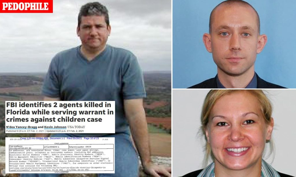 FBI demands USA Today hand over details of EVERYONE who read online story about two FBI agents killed during Florida child porn raid, but newspaper REFUSES First Amendment 'violation'