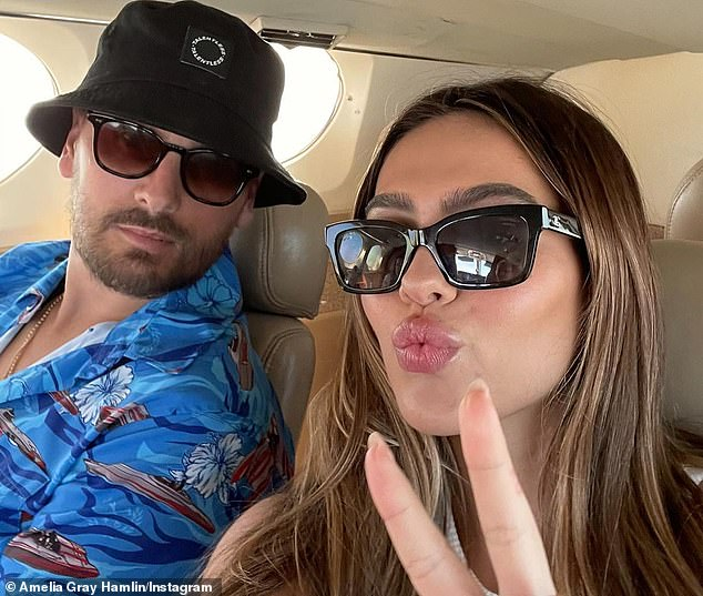 Side by side:Scott began dating the teen model last year after his spit from his longtime girlfriend Sofia Richie, 22, whose father is Lionel Richie