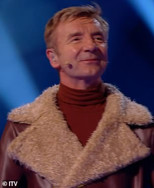 Double elimination: While Christopher Dean was unveiled as Beagle