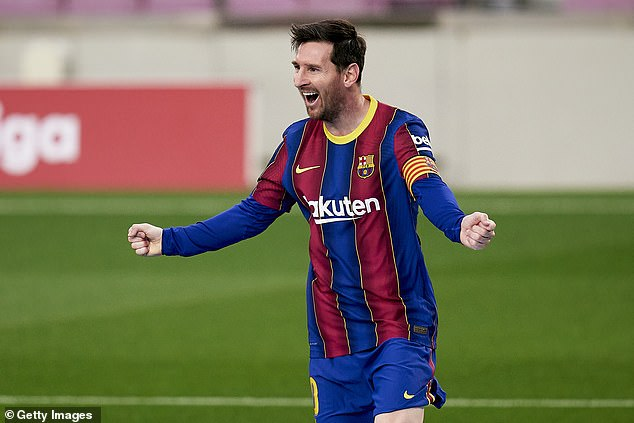 Lionel Messi is believed to have agreed a ten-year contact to secure his Barcelona future