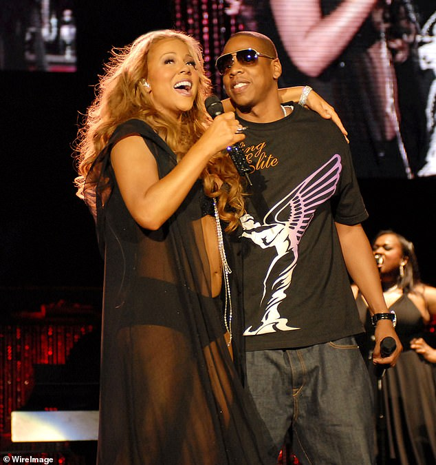 Departing soon: Roc Nation has already removed the mom-of-two, who shares her twins Moroccan and Monroe, ten, with ex-husband Nick Cannon, from their website, which lists the talent they represent; seen in 2006