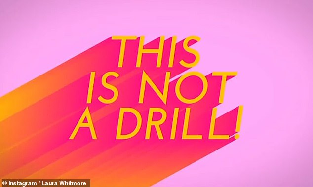 """Eagerly awaited: The new tag line for the show, """"This is not a drill"""", comes after last year's season was postponed due to the pandemic"""