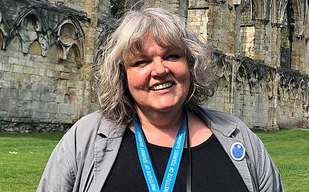 York guide Sarah Cowling