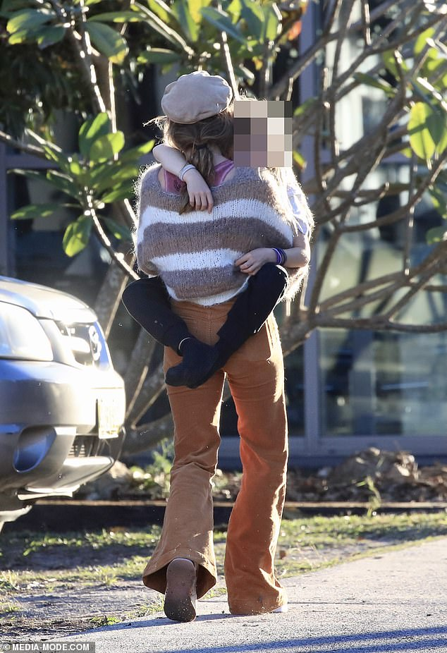 Busy:Elsa was back in Bryon Bay after spending a lot of time in the big city of late. The stunner has been shooting her new action movie Interceptor in Sydney, for streaming service Netflix