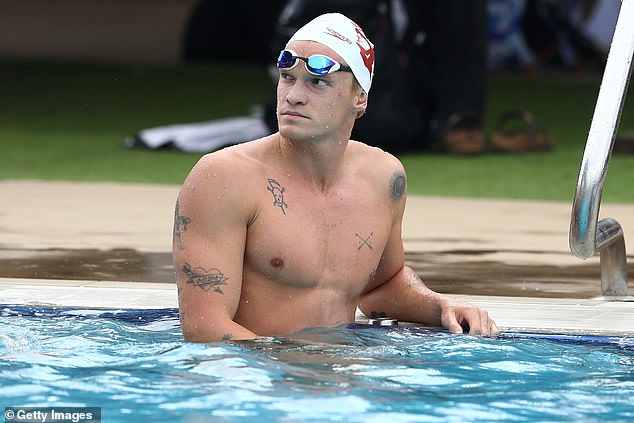 Trying: In April, Cody placed ninth in his heat at the Australian National Championships, with a time of 24.79 seconds