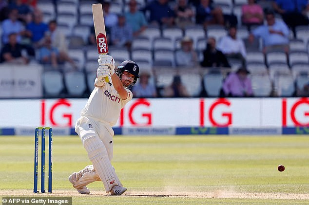 Burns prevented New Zealand opening up a more dominant position in the first Test match