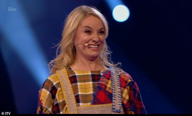 Fourth place: During the show, actress Tamzin Outhwaite was unmasked as Scarecrow. Tamzin wowed the judges with her performance dressed in her elaborate costume