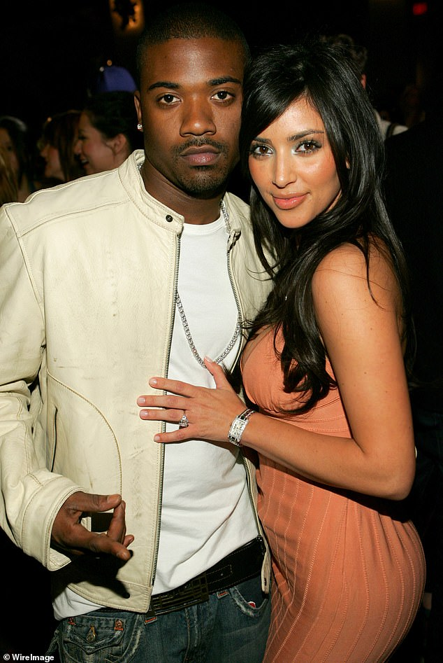 Ex-boyfriend: Kim has said talking about her 2002 sex tape with then-partner Ray J in the first-ever season of KUWTK helped her 'deal' with her emotions. It was released to the ublic in 2007 amid the start of her show