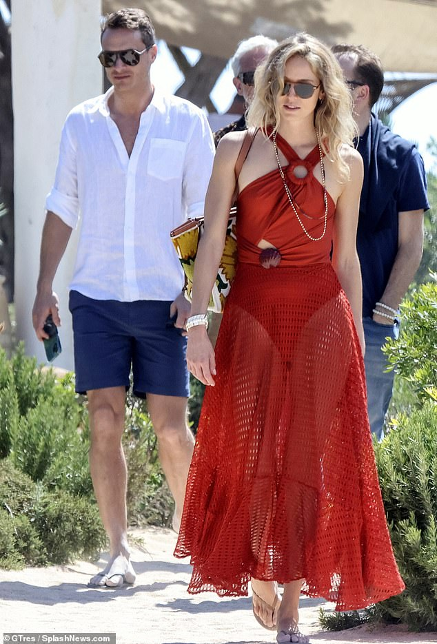 Arthur, son of the 9th Duke of Wellington, was seen last week holidaying with Elizabeth Hayley Whitehead, an Amazonian employee at his £2.5 billion investment firm Oakley Capital