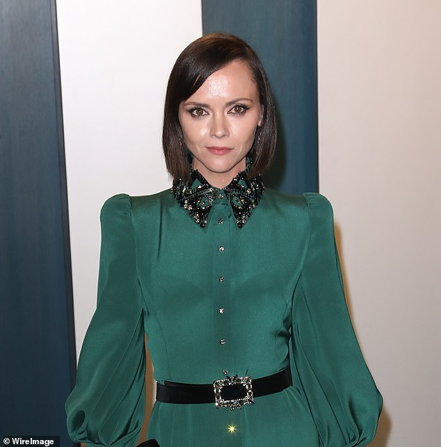 Newcomer: Christina Ricci, 41, was added to the cast of the much-anticipated third sequel in The Matrix film franchise, tentatively titled The Matrix 4