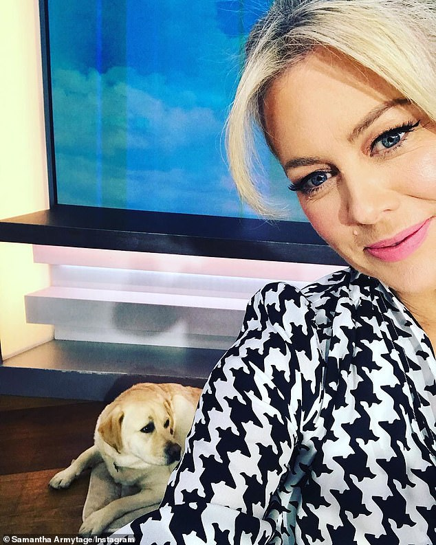 Moving on:In March, Sam stepped down from hosting Channel Seven's breakfast show after eight years, with claims that she did so in order to spend more time with her family