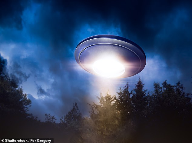 A hoax?Across the globe there have been numerous claims by people who have recalled seeing what they believe to be a UFO - Unidentified Flying Objects - or alien life.However these are often dismissed as just a hoax or the imagination running wild. Pictured: stock shot