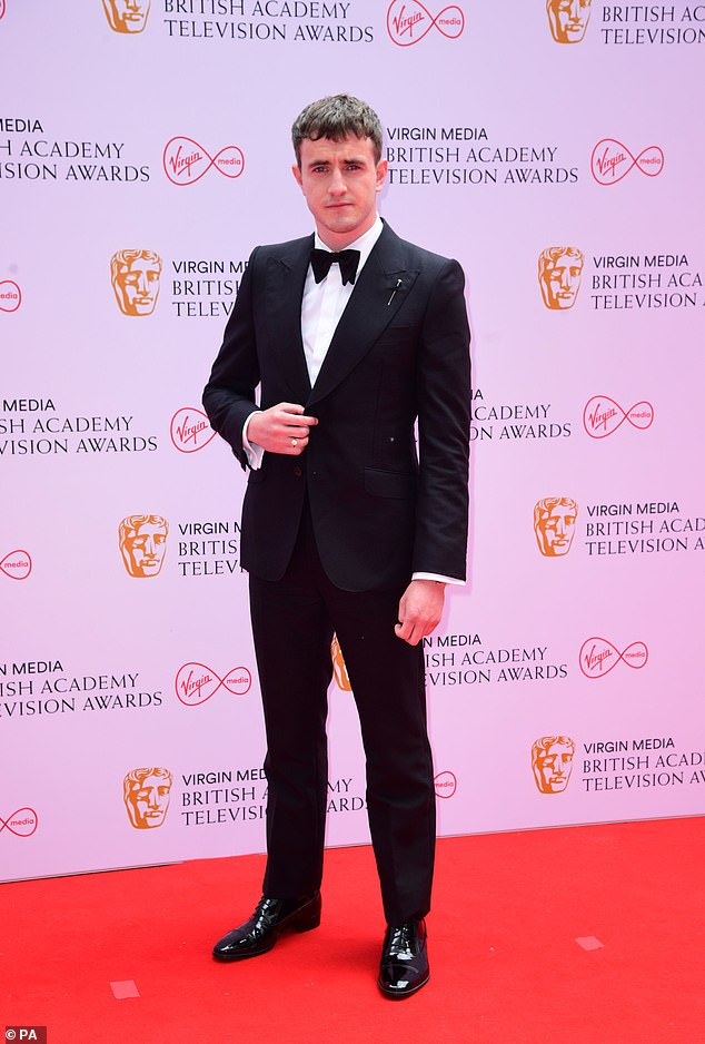 Nominee:The Normal People star was up for a Leading Actor gong at the awards this year, after his stand-out turn in the role of Connell Waldron last summer