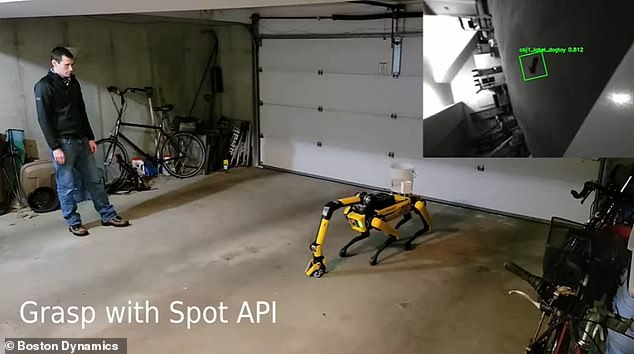 Teaching Spot fetch takes advantage of the robot's machine learning capabilities to recognize objects in its environment