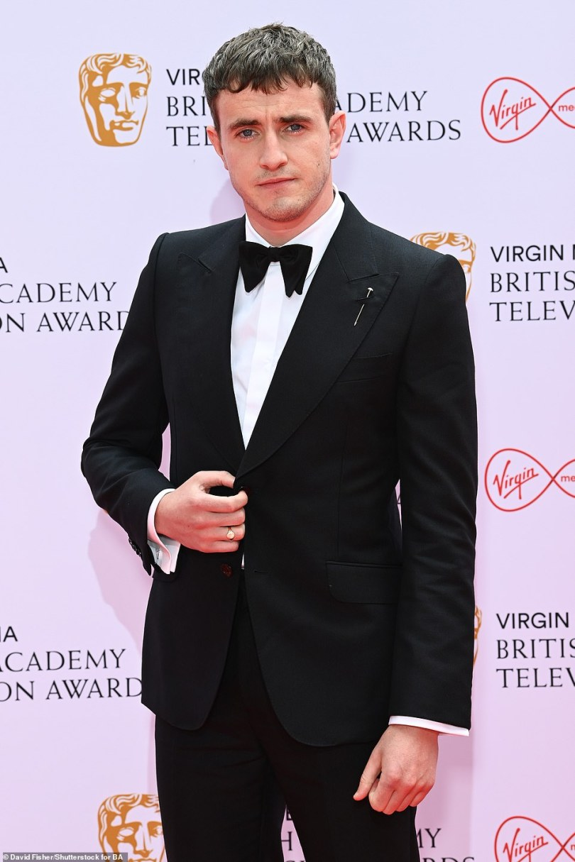 Stiff competition: He is up against I May Destroy You star Paapa Essiedu, Baghdad Central's Waleed Zuaiter, The Crown's Josh O'Connor, and Small Axe actors John Boyega and Shaun Parkes