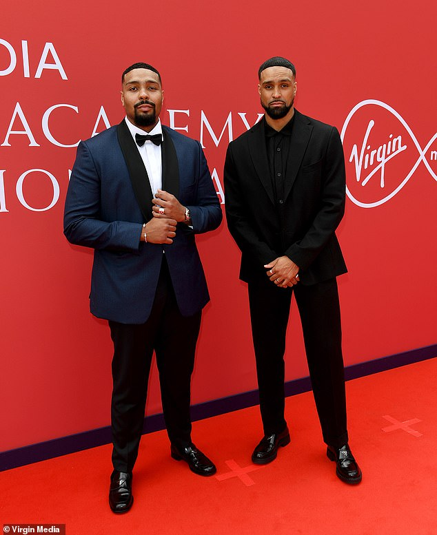 Win:The brothers took home the award for Must See TV Moment for Diversity's Black Lives Matter-inspired dance routine on Britain's Got Talent in September