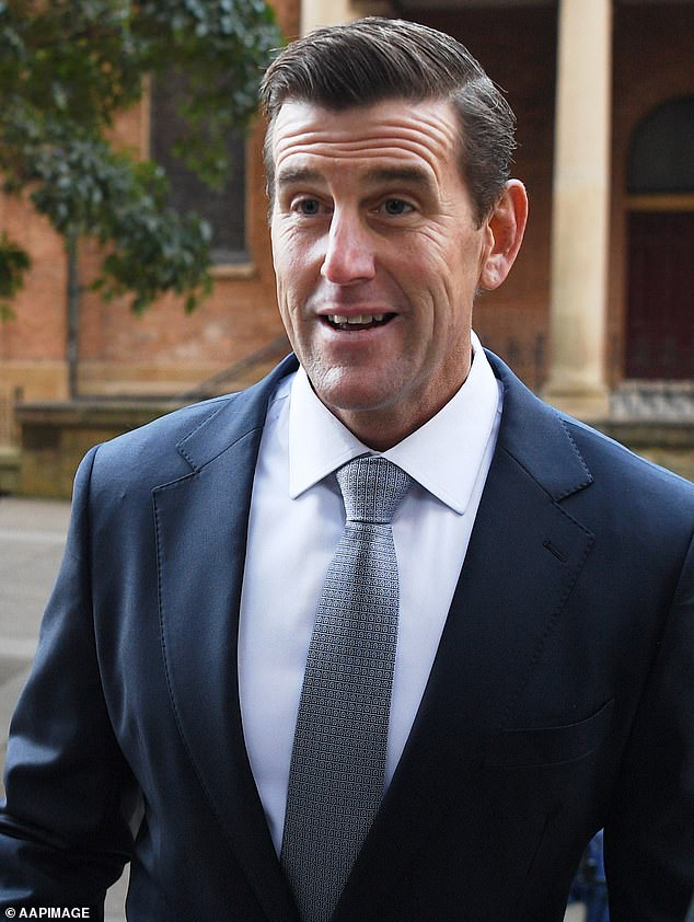 Ben Roberts-Smith will spend the next two months in room 18D at the Law Courts Building in the central business district defending himself against claims he is a war criminal
