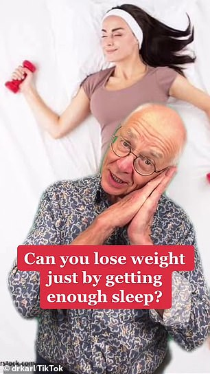 Dr Karl Kruszelnicki, who has degrees in medicine and biomedical engineering, recently explained the positive effect a good sleep can have on your waistline