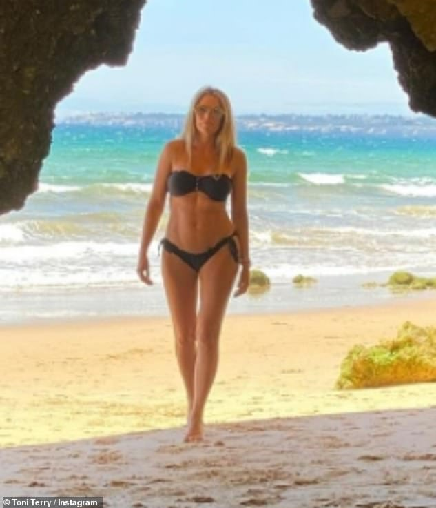 Wow: On Wednesday, Toni Terry showcased her incredible figure as she shared a sizzling bikini snap to Instagram