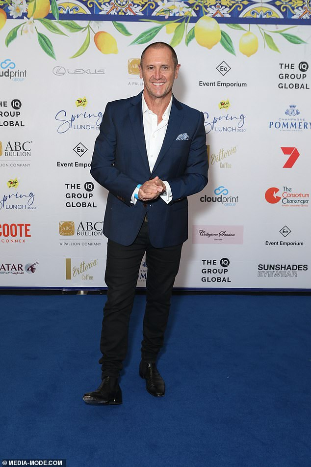 New role: Larry was announced as the new host of The Chase Australia in March after Andrew O'Keefe was dumped by the network after a domestic violence charge was brought against him
