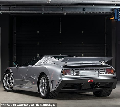 It sold at an RM Sotheby's classic car auction in 2019 for¿2,030,000 - around £1.75m