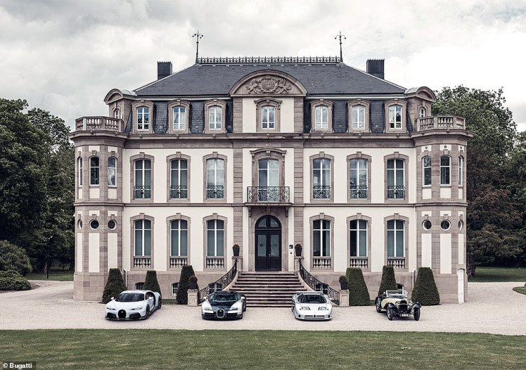 Only four other Bugatti's have displayed the Super Sport name until now. Thelegendary 1931 Type 55 Super Sport (right), 1993 EB 100 Super Sport (second right), 2010 Veyron Super Sport (second left) and the Chiron Super Sport 300+ (not pictured). Far left is the latest model
