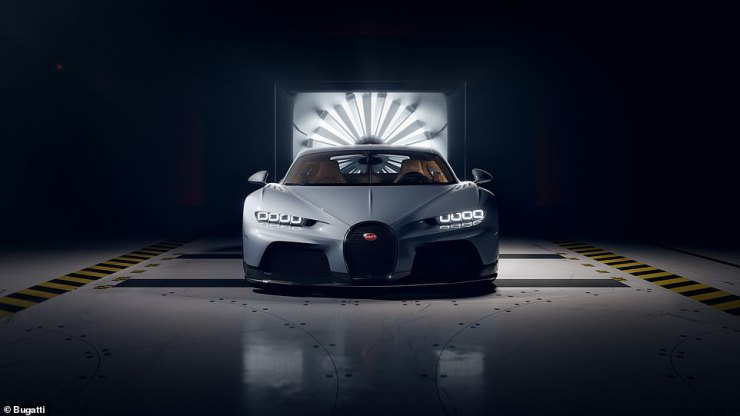 Bugatti's latest Chiron hypercar: Say hello to the limited edition Chiron Super Sport - a £3.3million grand tourer you can take on holiday