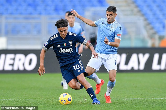 Manchester United loanee Andreas Pereira as revealed that he would like to remain at Lazio
