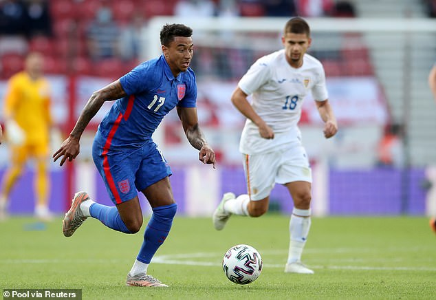 Jesse Lingard has sent a message of support to the England team ahead of Euro 2020