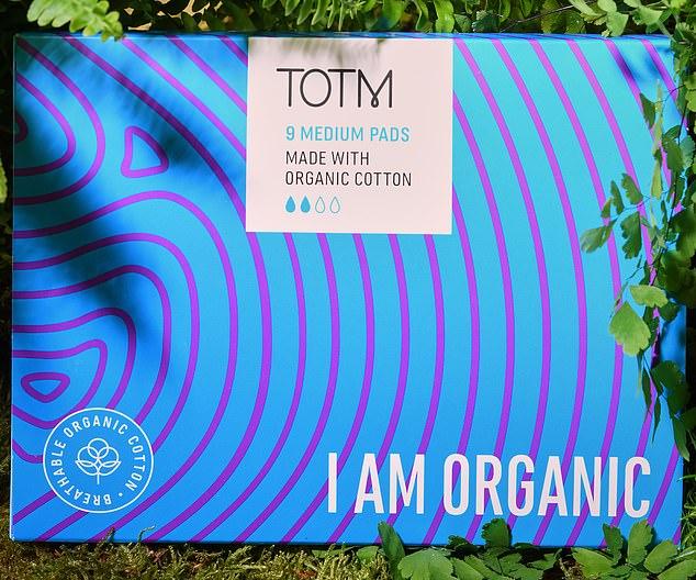 TOTM organic cotton pads,