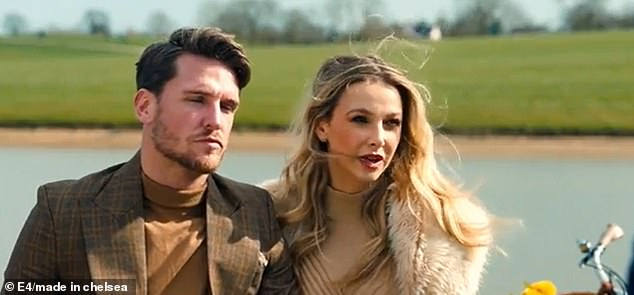 Oh no:Cracks begin to form between Sophie Hermann and Tom Zanetti in Monday's episode of Made In Chelsea