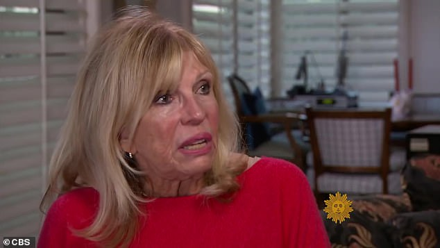 Is he or isn't he? In 2013, Mia told Vanity Fair that Ronan could 'possibly' be Frank's biological son, but his daughter Nancy (pictured) told CBS in 2015 that it was 'nonsense' because he had a vasectomy before 1986