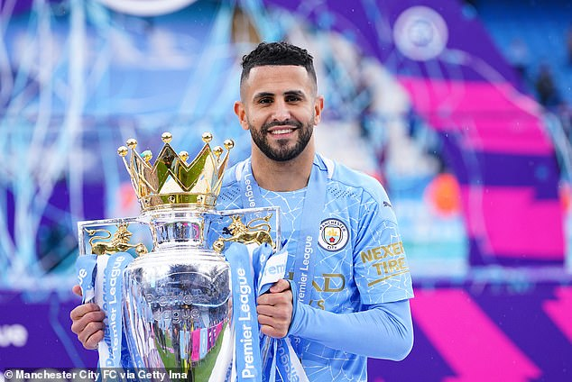Riyad Mahrez says he would like to stay at Manchester City until the end of his career