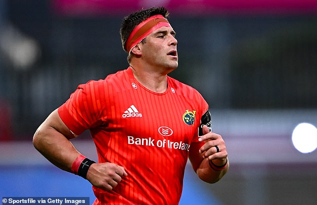 Munster team-mate CJ Stander suffered less serious burns during the freak fire pit accident